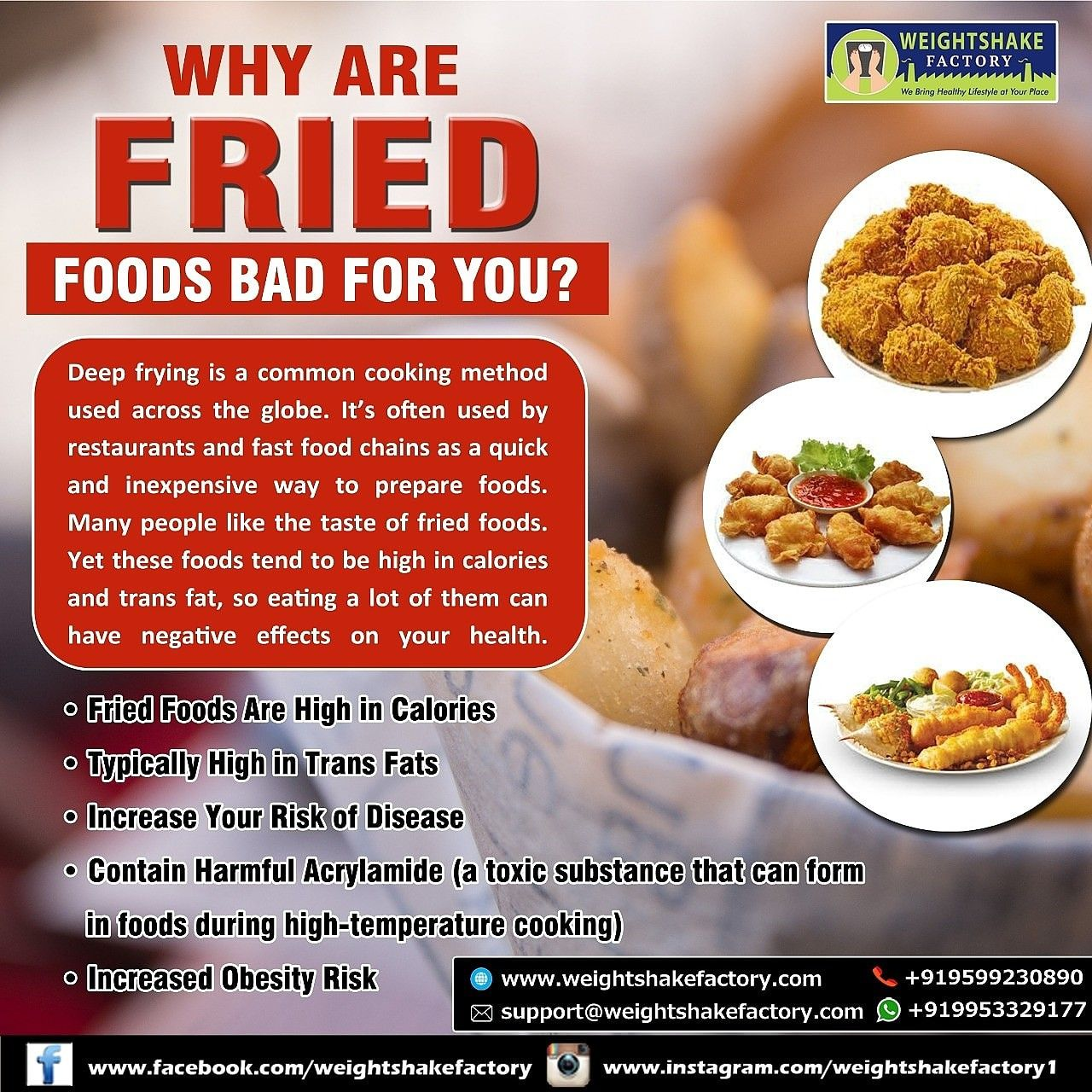 Why are fried foods bad