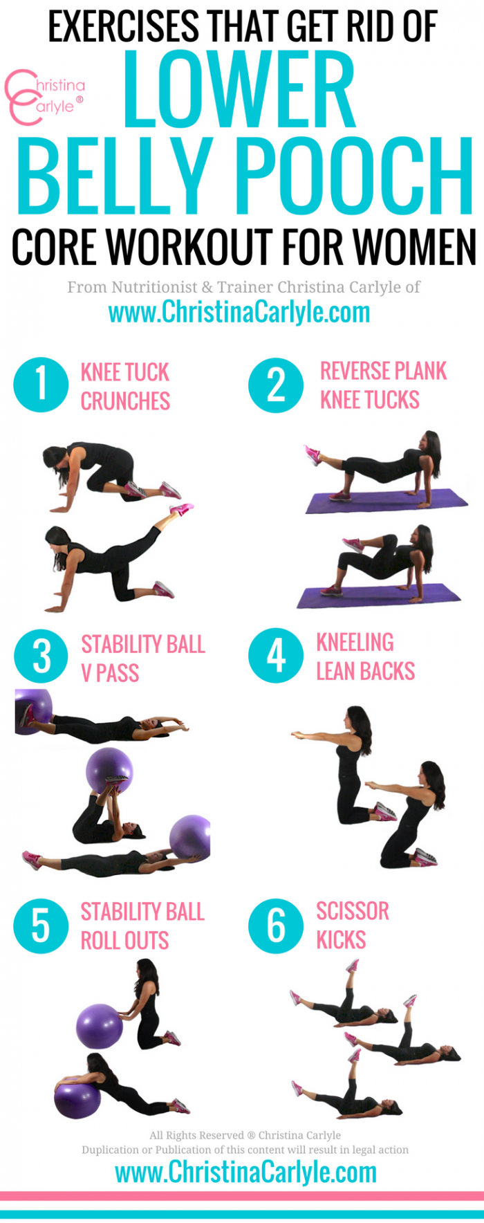 Workout to get rid of lower belly pooch