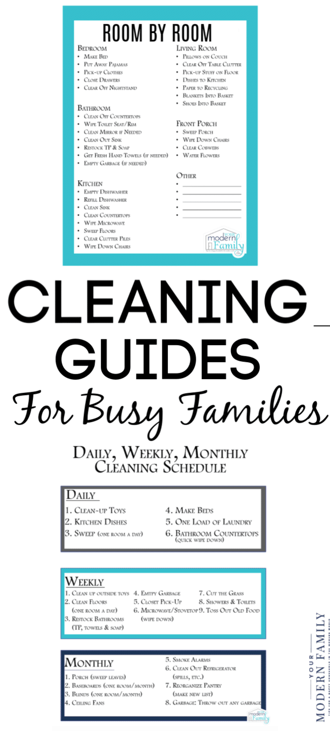 Cleaning Guides for Busy Families