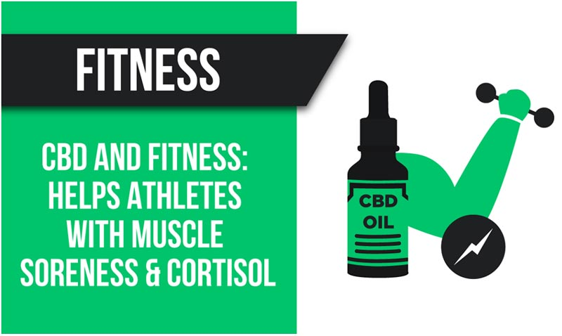 CBD helps athletes with muscle soreness and control