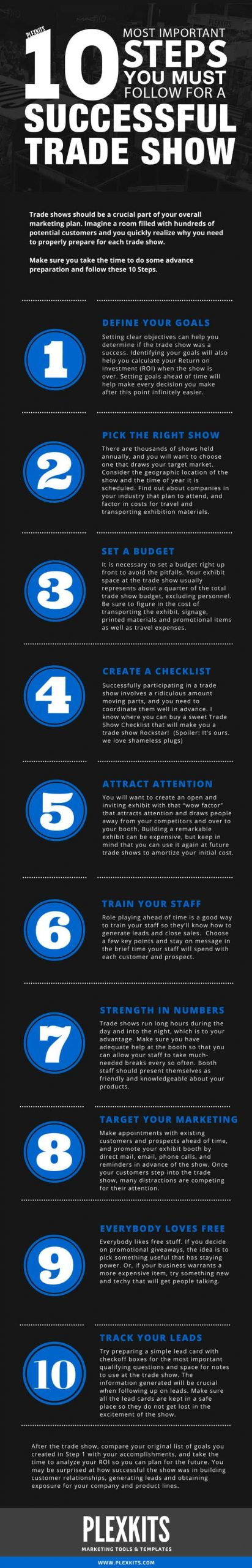 Steps you must follow for successful trade show