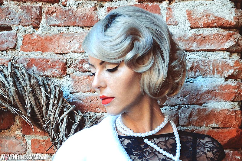 Go for a romantic hairstyle
