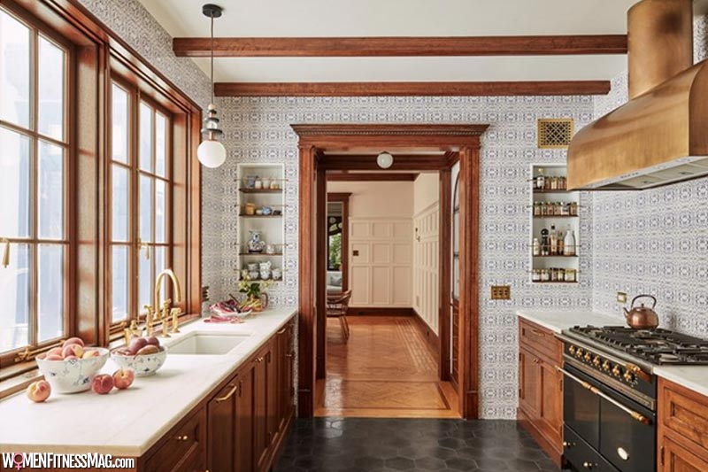 One-color palette for Kitchen