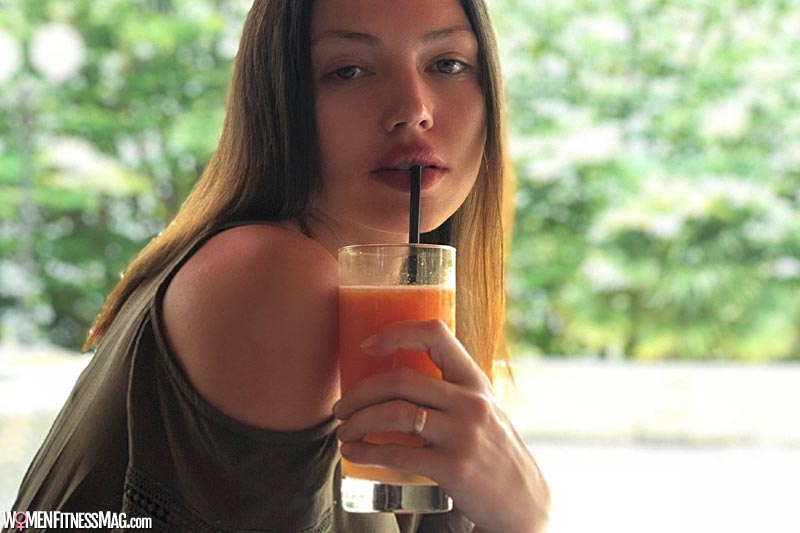 Drinking juice is good for the digestive system
