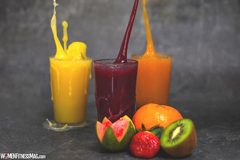 Juice is an excellent way to absorb extra nutrients