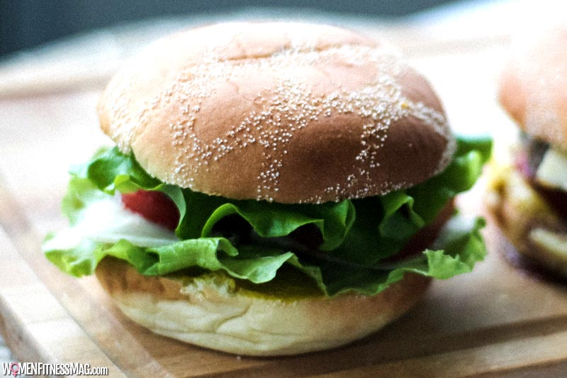 The plant-based burger protein content