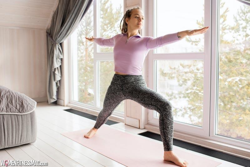 Home Yoga session