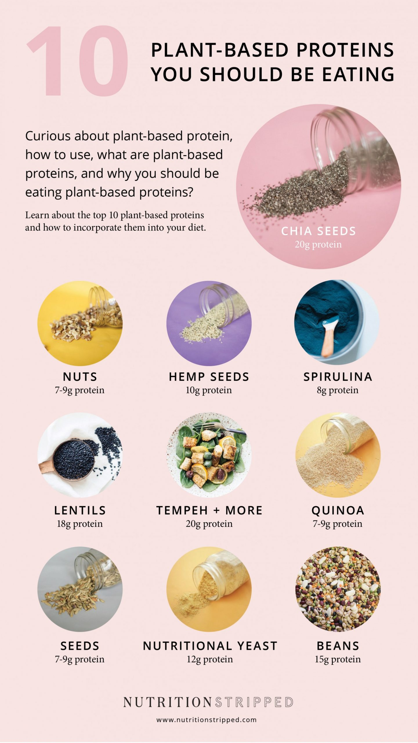Plant Based Protein you should be eating