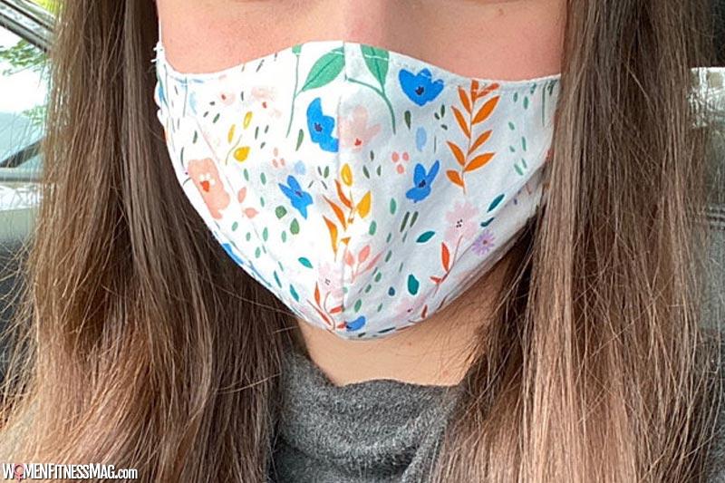 Trendy Floral Face Mask