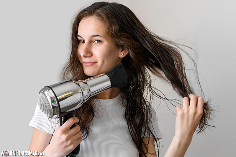 Blow-dry your hair upside-down