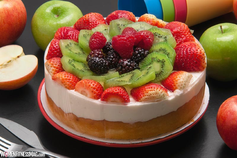 Healthy And Delicious Fruit Cake