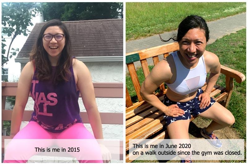 Body transformation of Jillian
