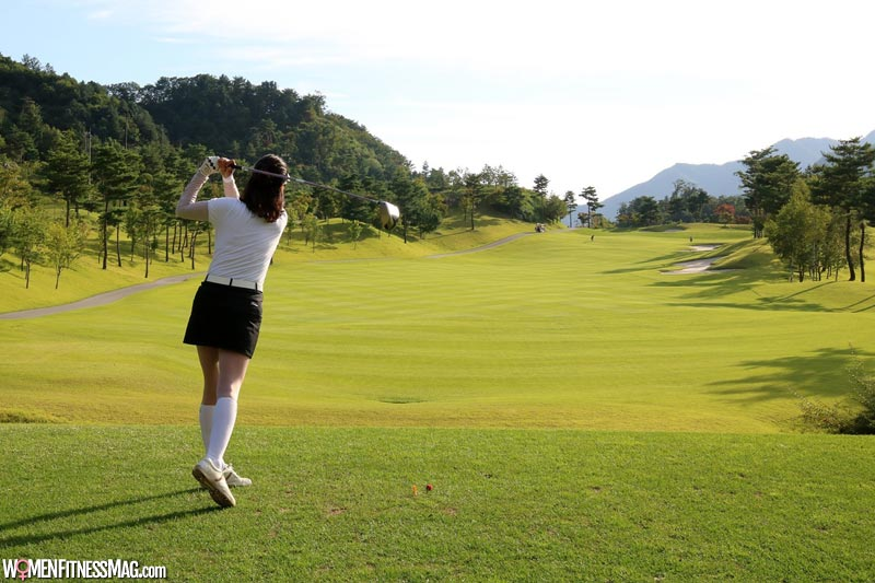 Playing Golf helps Managing Stress