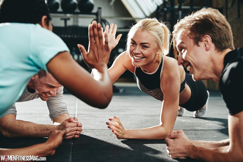 Join Other Exercise Enthusiasts