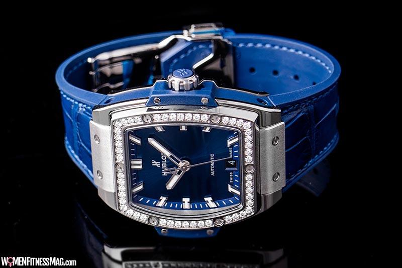 Hublot Spirit of Big Bang Blue Diamonds Titanium