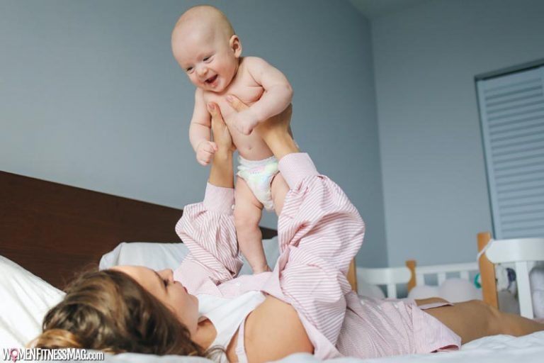 Workout with Baby - Easy and Fun Exercises for New Mummies
