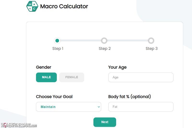 Macro Calories Calculator