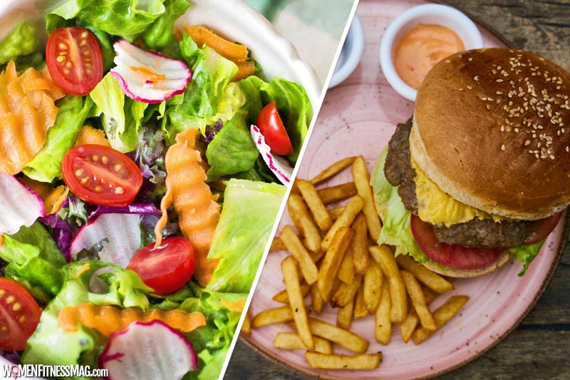 More Vegetables, Less Fast Food