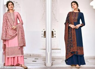 Stylish and Trendy Palazzo Suits For Woman