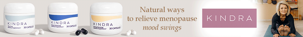 KINDRA - Natural ways to relieve menopause mood swings