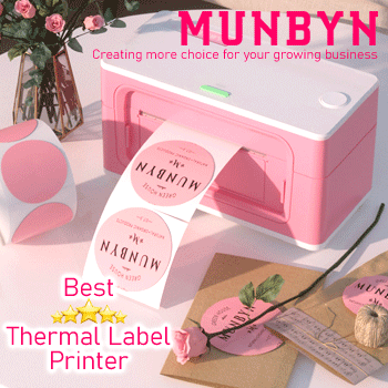 MUNBYN - Best Thermal Label Printer